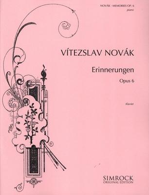 Memories op. 6    Klavier Buch  EE 698 / Novak V. / Simrock