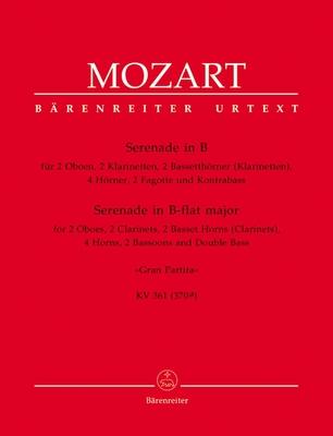 Serenade Gran Partita Wolfgang Amadeus Mozart  Wind Ensemble Stimmen-Set  BA5331-22 / Wolfgang Amadeus Mozart / Bärenreiter