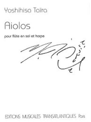 Aiolos  Yoshihisa Tara Pierre-Yves Artaud Flute and Harp Buch  ETR001856 / Yoshihisa Tara / Transatlantiques