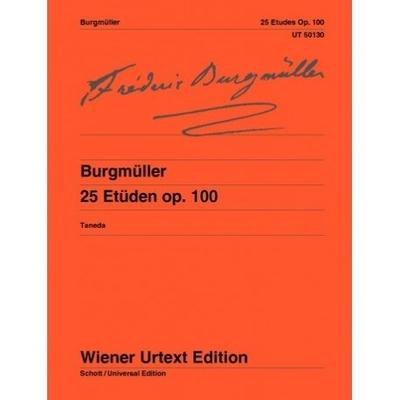 Wiener Urtext Edition / Etudes Opus 100  Friedrich Burgmüller  Klavier Buch Sudien und bungen UT 50130 / Friedrich Burgmüller / Wiener Urtext