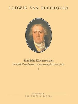 Sämtliche Sonaten, Band I  Ludwig van Beethoven  Frederic Lamond Klavier Buch / Ludwig van Beethoven / Frederic Lamond / Breitkopf