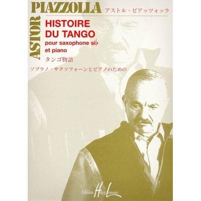 Histoire du tango PIAZZOLLA Astor / Astor Piazzolla / Henry Lemoine