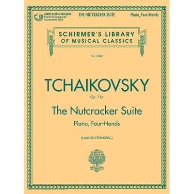 Schirmer's Library Of Musical Classics / The Nutcracker Suite Op.71a Piano, Four Hands Pyotr Ilyich Tchaikovsky  Piano, 4 Hands Buch Klassik GS25875 / Pyotr Ilyich Tchaikovsky / Constantin Von Sternberg / G. Schirmer