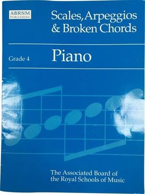 ABRSM Piano Scales / Piano Scales & Arpeggios, Grade 4 /  / ABRSM