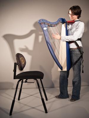 Salvi harnais pour harpe Juno