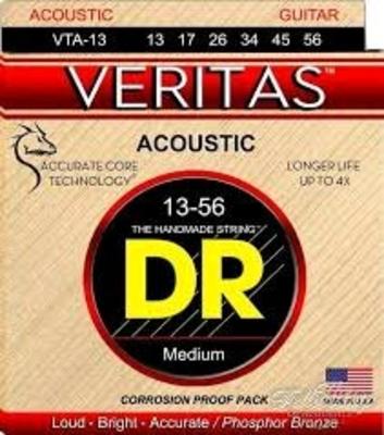 DR Strings Veritas phosphor bronze – Medium 13/56