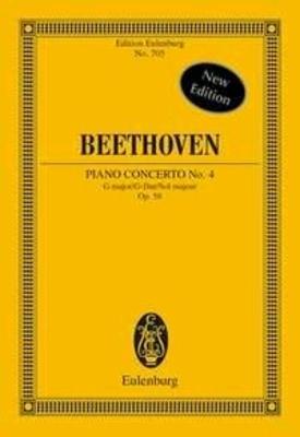 Concerto No.4 In G Op.58 / Ludwig van Beethoven / Richard Clarke / Eulenburg
