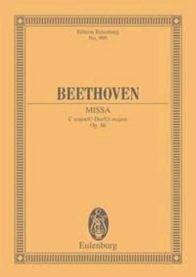 Mass In C Major Op 86 / Ludwig van Beethoven / Willy Hess / Eulenburg