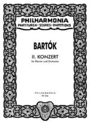 Klavierkonzert Nr. 2  Béla Bartk  Peter Bartk Piano and Orchestra Studienpartitur / Béla Bartk / Peter Bartk / Universal Edition