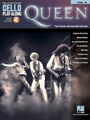 Cello Play-Along / Cello Play-Along Volume 8 Cello Play-Along Volume 8    Cello Buch + Online-Audio Cello Play-Along Pop und Rock / Queen / Hal Leonard