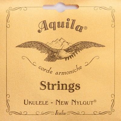Aquila 15U – New Nylgut, Ukulele String Set, Tenor, Low-G Tuning (1 wound string)