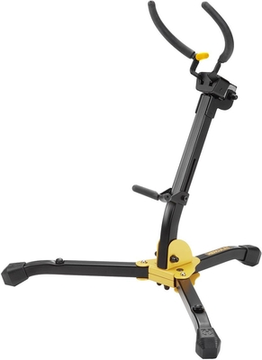 Hercules DS630BB AUTO GRIP SYSTEM (AGS) ALTO/TENOR SAXOPHONE STAND W/BAG