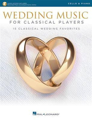 Wedding Music for Classical Players – Cello /  / Hal Leonard
