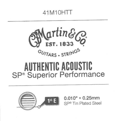 Martin & Co 010» Authentic Ac. Superior Performance, Tin Plated Steel