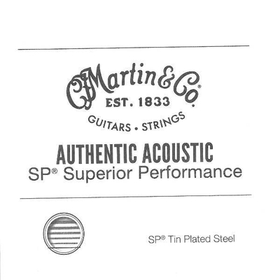 Martin & Co 015» Authentic Ac. Superior Performance, Tin Plated Steel