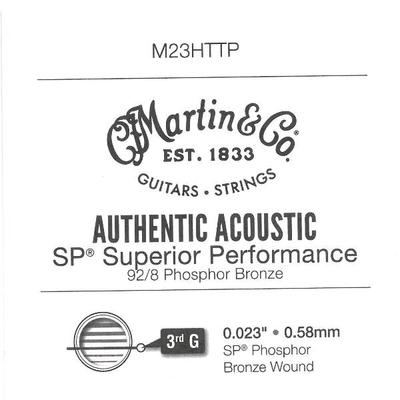 Martin & Co Corde filée .023» AA SP High Tensile 92/8 Phosph. Bronze Wound