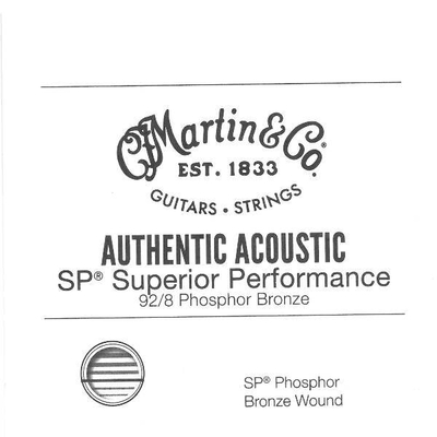 Martin & Co Corde filée .025» AA SP High Tensile 92/8 Phosph. Bronze Wound