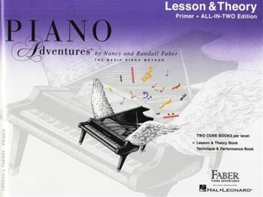 Piano Adventures Primer Level – All-In-Two Lesson & Theory – Anglicised Edition / Nancy Faber / Faber Music