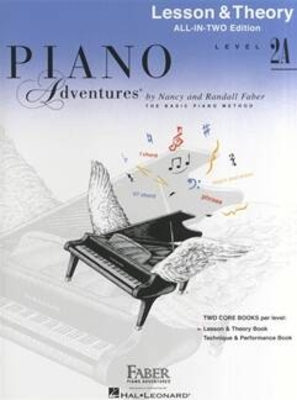 Piano Adventures Level 2A – All-In-Two Lesson/Theory Lesson & Theory – Anglicised Edition / Nancy Faber / Faber Music