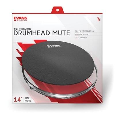 Evans Sourdine SoundOff par Evans, 14» Drumhead Mute