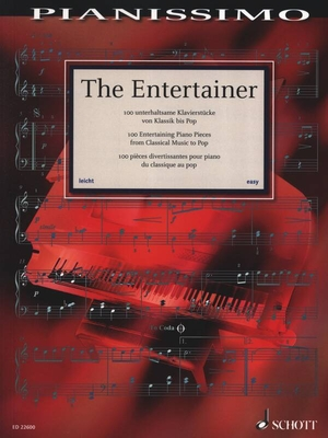 The Entertainer 100 Unterhaltsame Klavierstücke Von Klassik Bis Pop Hans-Günter Heumann  Piano Recueil   German / Hans-Günter Heumann / Schott