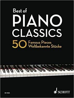 Best Of Piano Classics 50 Famous Pieces for Piano  Hans-Günter Heumann Piano Recueil / Hans-Günter Heumann / Schott