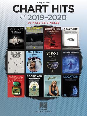 Chart Hits of 2019-2020  20 Massive Singles   Hal Leonard Easy Piano Recueil  Pop & rock  EASY /  / Hal Leonard