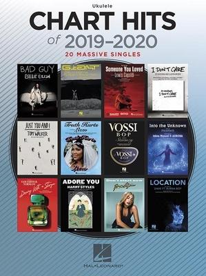 Chart Hits of 2019-2020  20 Massive Singles   Hal Leonard Ukulele Recueil  Pop & rock  EASY /  / Hal Leonard