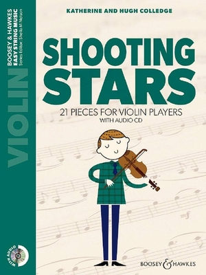 Shooting Stars 21 pieces for violin players Rudolf Nelson  Boosey and Hawkes Violin Recueil + CD  Pédagogie / Rudolf Nelson / Boosey and Hawkes