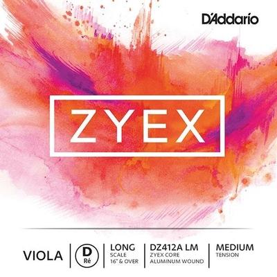 D'Addario Corde Alto ZYEX 2e RE-D long scale moyen sachet