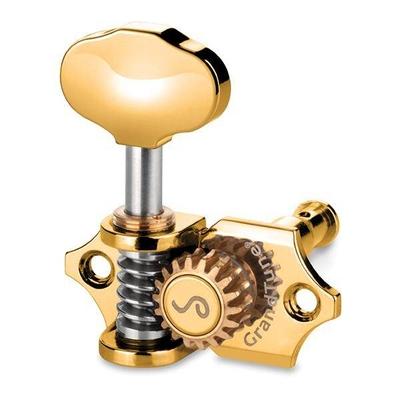 Schaller Mechanik Grand Tune, 3 links / 3 rechts, GOLD