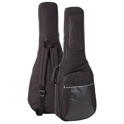 Stefy Line Housse pour guitare électrique, rembourrage 13mm, noire