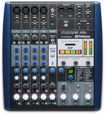 Presonus StudioLive AR8c Table de mixage 8 canaux  / Interface audio USB-C