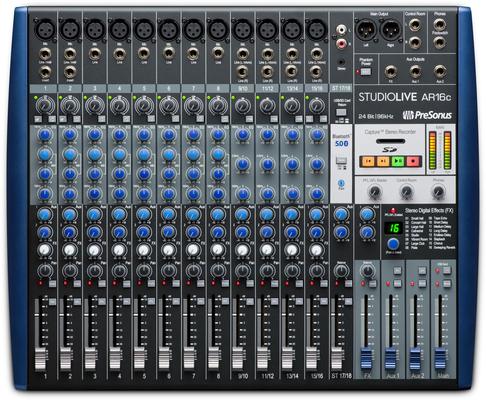 Presonus StudioLive AR16c Table de mixage 18 canaux / Interface audio USB-C
