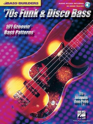 Bass Builders / Bass Builders 70s Funk and Disco Bass    Hal Leonard Bass Guitar Recueil + Enregistrement(s) en ligne Bass Builders Pédagogie /  / Hal Leonard
