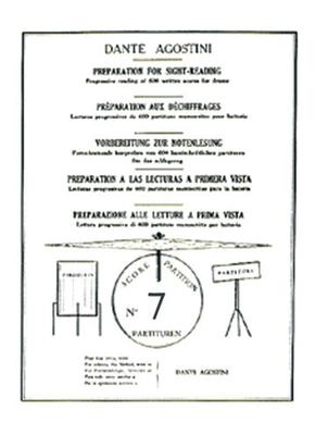 Méthodes Agostini / Préparation au déchiffrage – Volume 7  Dante Agostini  Dante Agostini / Dante Agostini / Agostini
