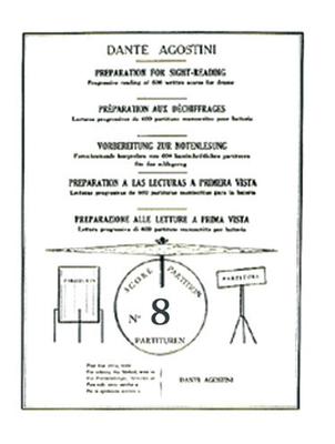 Méthodes Agostini / Préparation au déchiffrage – Volume 8  Dante Agostini  Dante Agostini / Dante Agostini / Agostini