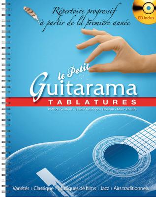 Collection Rama / Le Petit Guitarama Tablatures  M. Khalifa  Hit Diffusion Guitar (TAB) Recueil + CD Collection Rama / M. Khalifa / Hit Diffusion