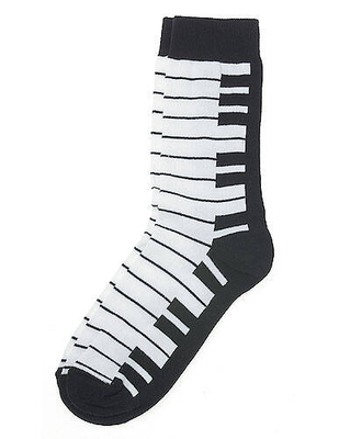 AIM GIFTS Women's Socks: Keyboard    AIM GIFTS  Textile
