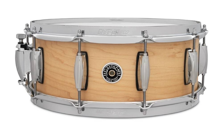 Gretsch Drums Caisse claire USA Brooklyn Satin Natural 14 »x 5,5»