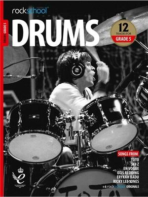 Rockschool Drums Grade 5 (2018)    Batterie Recueil + Enregistrement(s) en ligne  Pédagogie English INTERMEDIATE /  / Rockschool Ltd.