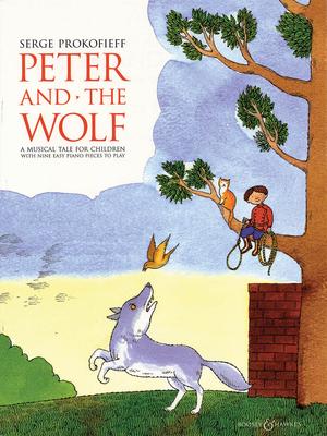 Piano / Peter and the Wolf  Sergei Prokofiev Carol Barratt G. Schirmer Piano Recueil Piano Classique Anglais / Sergei Prokofiev / Carol Barratt / G. Schirmer