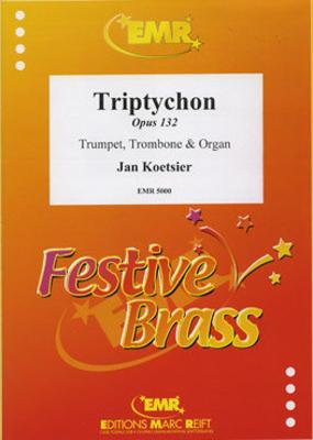 Triptychon Op. 132  Jan Koetsier  Editions Marc Reift Trumpet, Trombone and Organ Score + Parties    4 / Jan Koetsier / Editions Marc Reift