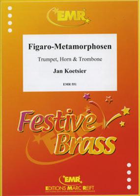 Figaro-Metamorphosen  Jan Koetsier  Editions Marc Reift Trumpet, Horn and Trombone Score + Parties    4 / Jan Koetsier / Editions Marc Reift