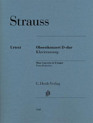 Concerto pour hautbois en Ré majeur Oboe Concerto in D major  Richard Strauss  G. Henle Verlag Hautbois et Piano Réduction de piano / Richard Strauss / Henle