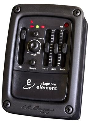SUPPRIMER IIII LRB-EL-SP Element stagepro pickup system for acoustic guitar