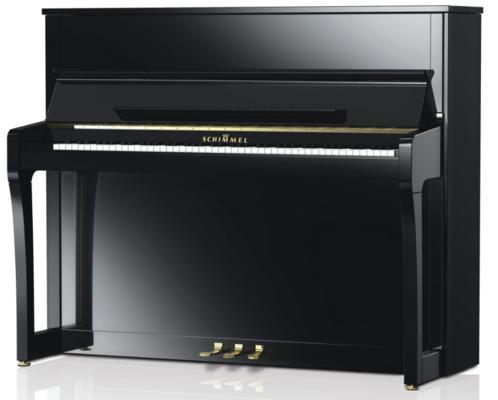 Schimmel K122 Elegance Konzert noir poli brillant