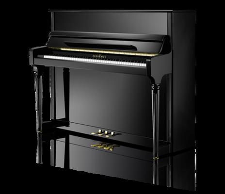 Schimmel C121 Royal Classic noir poli brillant