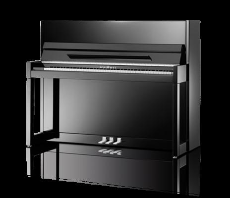 Schimmel C 116 Modern Cubus Classic noir poli brillant