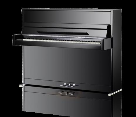 Schimmel W114 Modern noir poli brillant